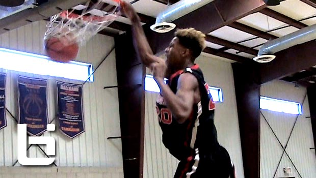 Shareef O'Neal Catches sick one-Handed Oop in Vegas! Son of Shaq