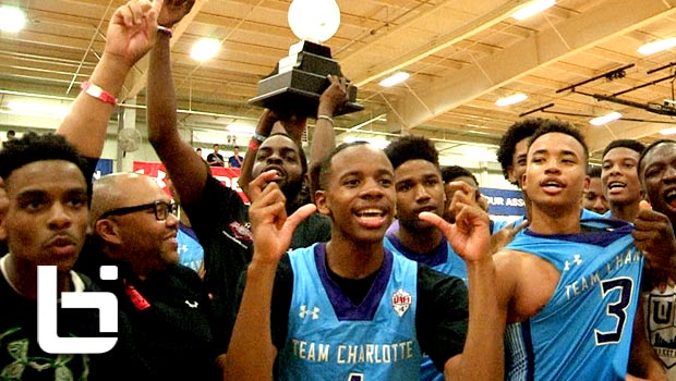 Team Charlotte Upsets Canada Elite in UAA 17U Finals!