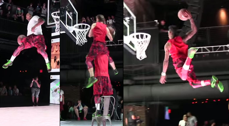 Best Head Above The Rim Dunks From the Jordan Brand #FirstToFly Dunk Contest