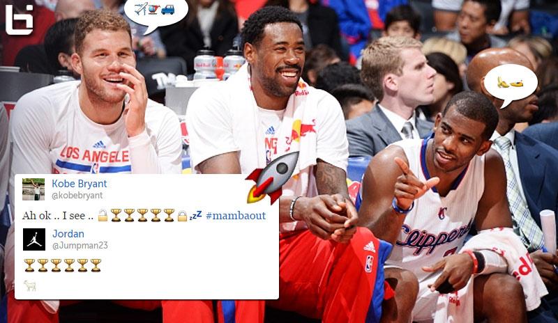 Winners & Losers of the Great NBA Emoji Battle With The Clippers, Mavs, Warriors, Kobe & Michael Jordan