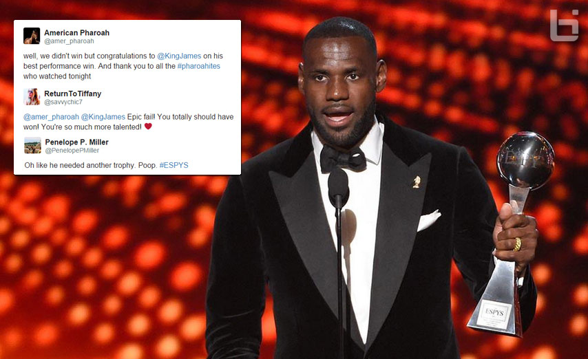 "LeBron James Won ""Best Championship Performance"" at the ESPYs, Upset Horse Fans React On The Internet"