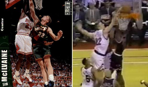 Remember Jim Mcilvaine, his big contract & the time he blocked Michael Jordan?