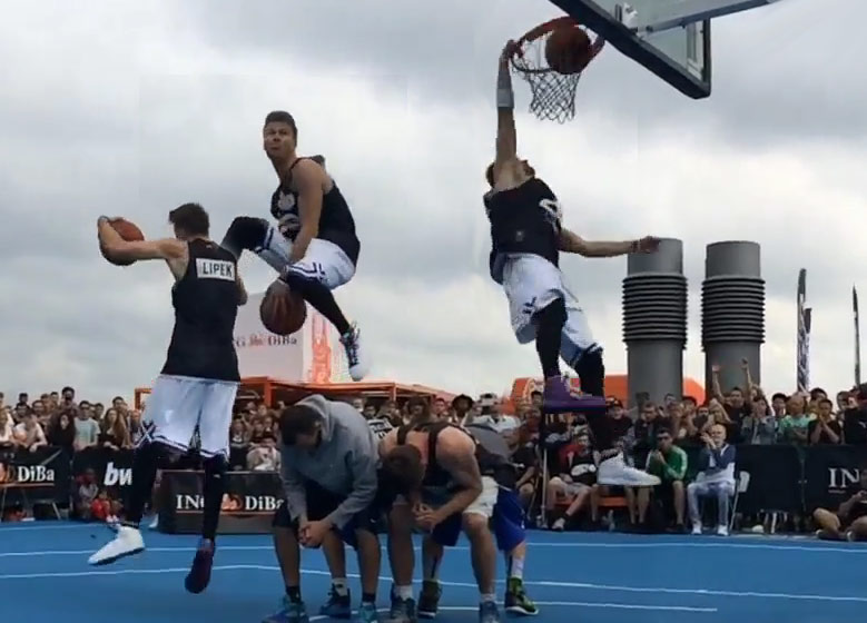 So Dunkers Are Doing 360 Between the Legs Dunks Over People Now? #SHUTUPANDPLAY Dunk Contest!