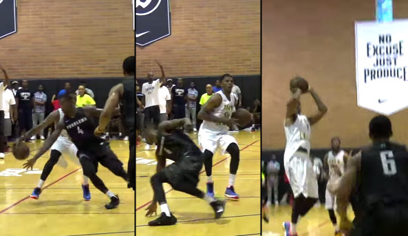 Nick Young Breaks an Ankle, Shoots, Turns & Celebrates A Game-Winning 3 in Double OT Before It Goes In at the Drew League