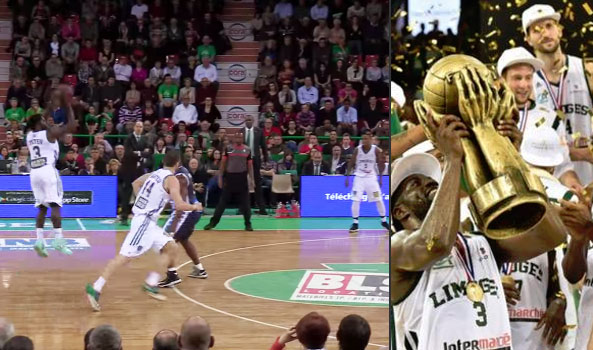 Pooh Jeter 2014/15 Highlights With The LNB A (France) Champions