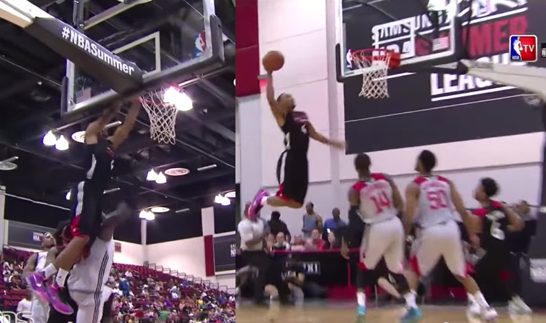 2nd RD Pick Norman Powell Scores 19, throws down some nasty dunks vs the Rockets