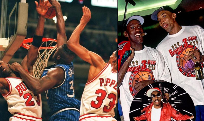 Shaq & Pippen Are Having An Ugly But Oh So Funny Instagram Fight: I was Puffy you was Mase