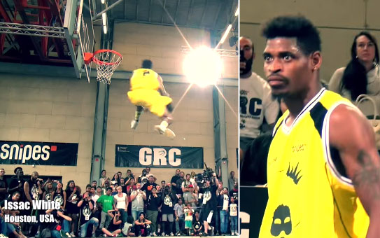 5'10 Sir Issac Wins International Dunk Contest in Germany
