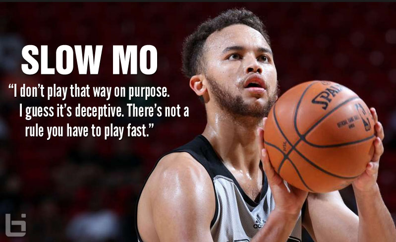 Kyle Anderson Slow But Effective, 25 points & 8 rebounds vs the Nets