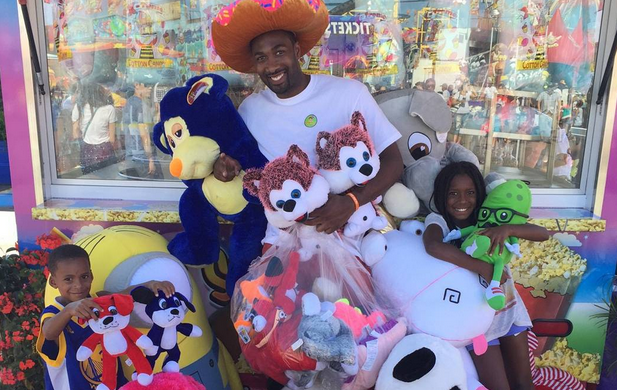 Gilbert Arenas Banned From Local Fair After Winning All The Stuffed Animals