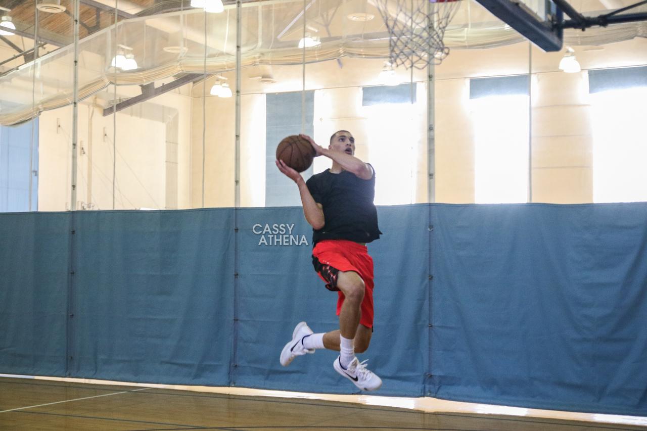 Zach LaVine Workout With NBA Trainer Drew Hanlen - Ballislife.com