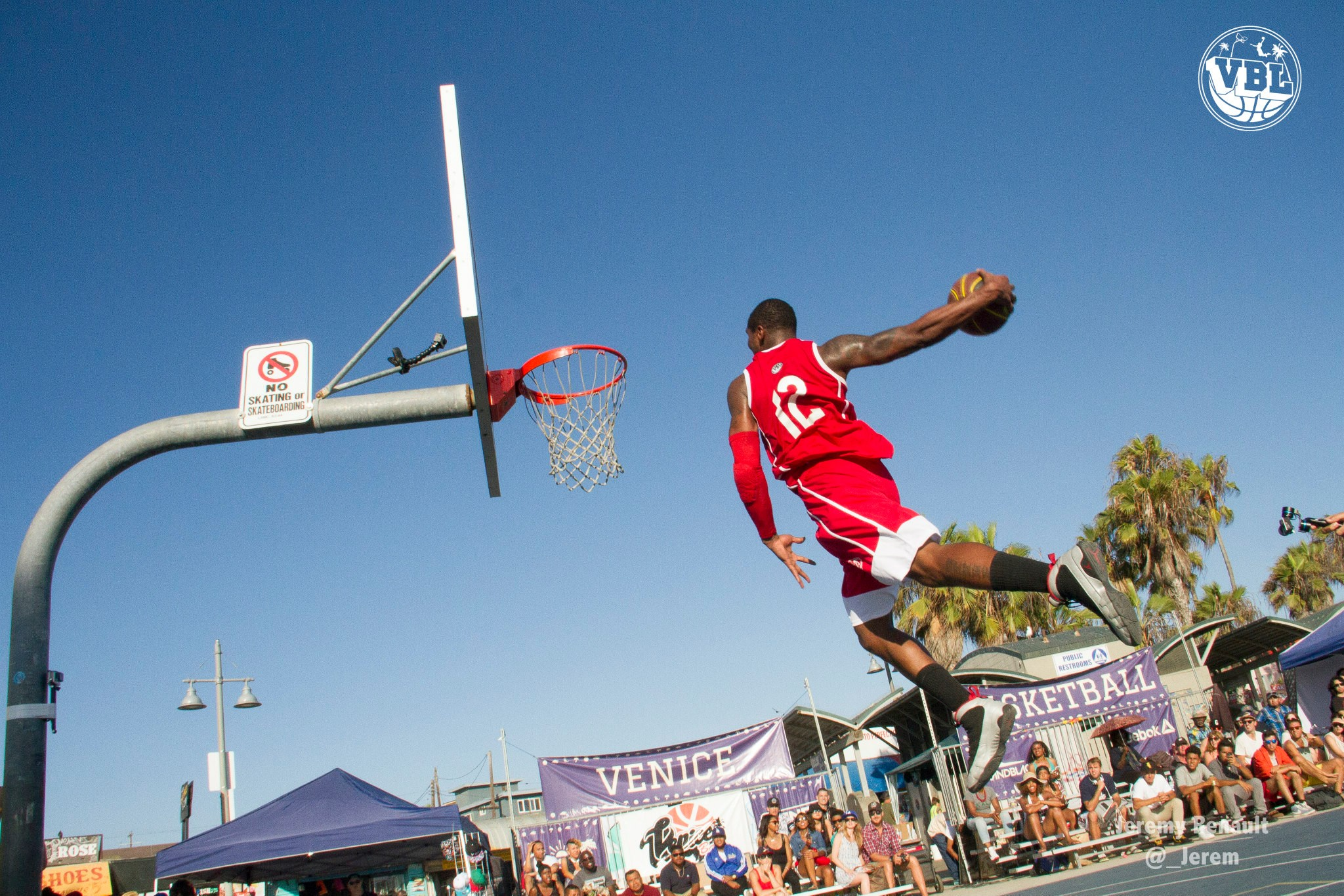 BrandBlack Future Legends Taking Flight at the Venice Beach League