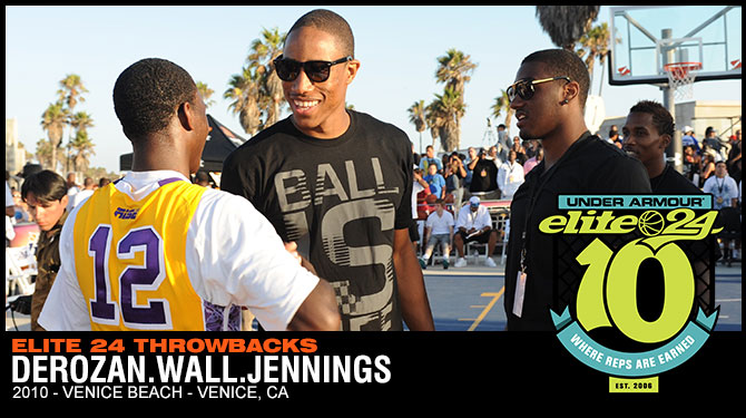 2010 Throwback - Derozan, Wall & Jennings