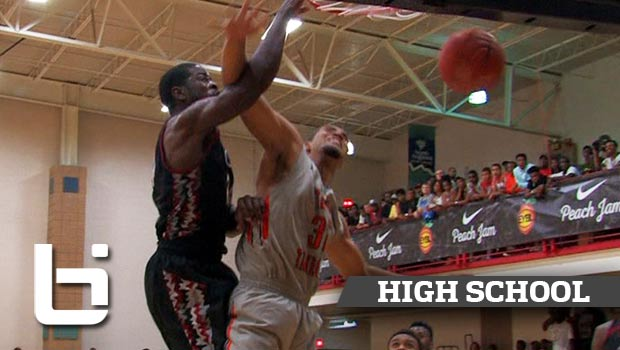 Harry Giles Leads CP3 at EYBL Peach Jam in Front of Chris Paul!