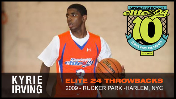 Elite 24 Lottery Picks - Kyrie Irving