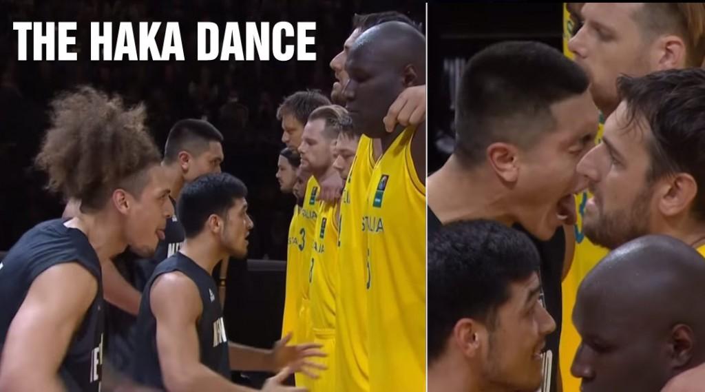 Andrew Bogut, Patty Mills & Matthew Dellavedova React To The Tall Blacks' Haka War Dance