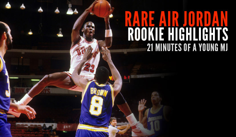 21 Minutes of Rare Michael Jordan Rookie Footage from 1985