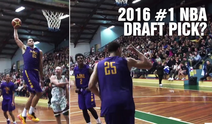 Future #1(?) Draft Pick Ben Simmons Drops 22 & 10 in LSU Debut, 26 IN 2nd Game