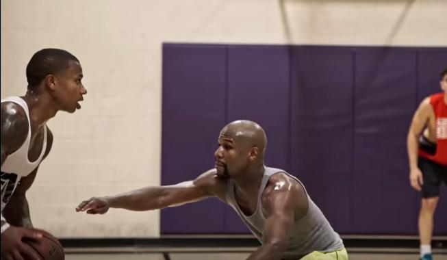 Isaiah Thomas vs Floyd Mayweather in Basketball