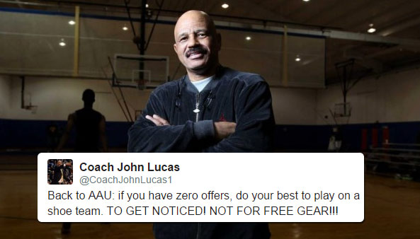 Coach John Lucas Has Some Great Must Hear Real Advice For AAU Players