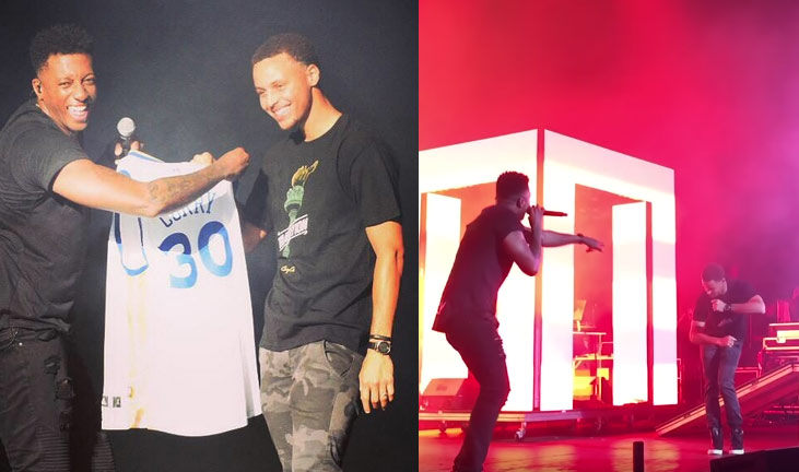 "Steph Curry Dances On Stage With Christian Rapper Lecrae ""I'm Turnt"""