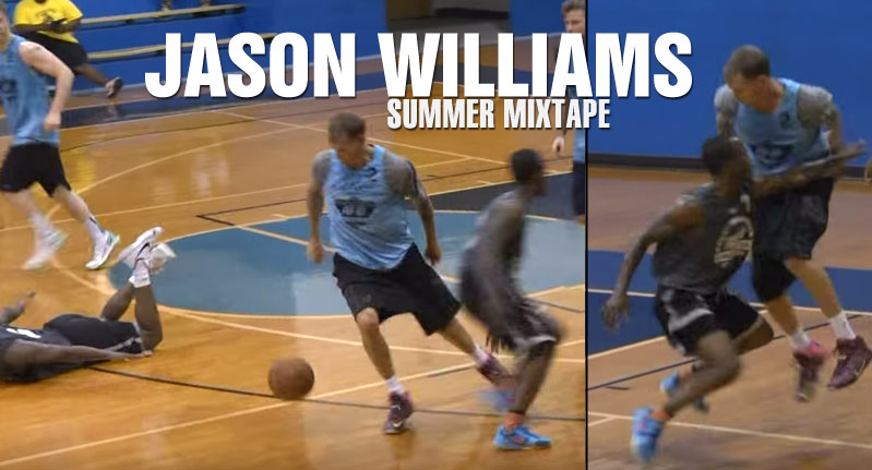 Jason Williams 2015 Summer Mixtape: 39 Year Old White Chocolate!