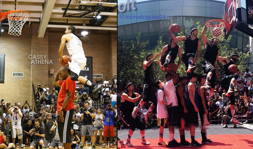 Kenny Dobbs is back! Windmills Over Paul Pierce At Drew League, Wins Nike Dunk Contest the day before