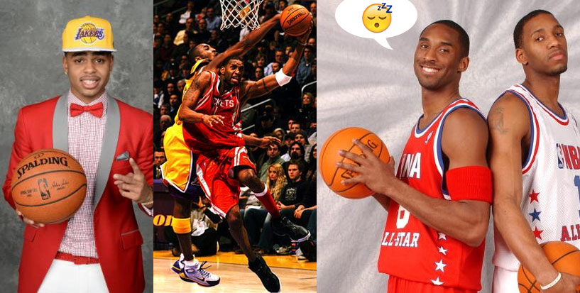 Kobe Responds To D'Angelo Russell Saying TMac Might Have Been the GOAT