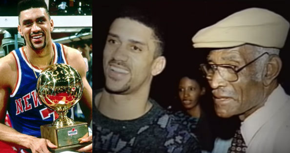 "The Kenny ""Sky"" Walker Story: Winning the NBA Dunk Contest 3 Days After His Father's Death"