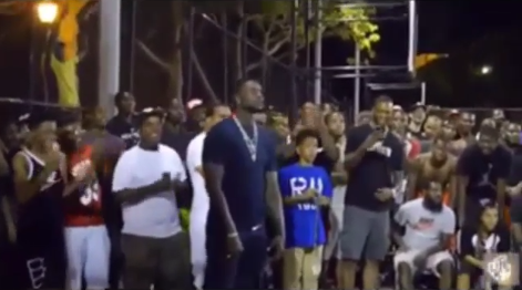 Lance Stephenson Scores 25pts in 12mins after getting called out by a fan at NY Memorial Classic