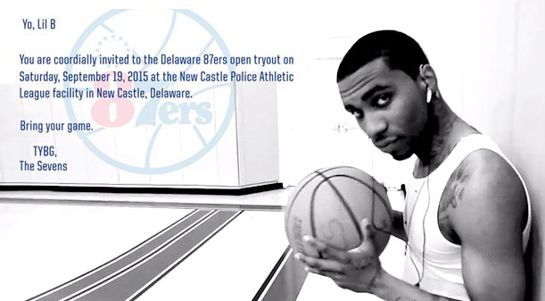 76ers D-League Team Sends Lil B A Try Out Invitation