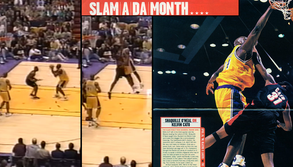 The Day Shaq Murdered Kelvin Cato In the 1998 Playoffs