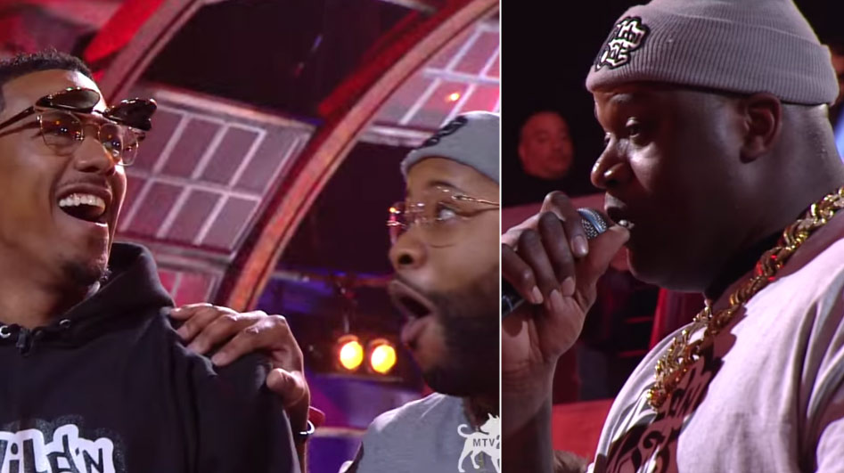 Shaq Kills Nick Cannon During Wild 'N Out Freestyle Battle With 1 Line About Mariah Carey