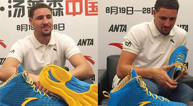 Anta & Klay Thompson Unveil Signature Shoe