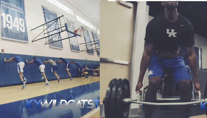 Kentucky Wildcats Summer Workout Video