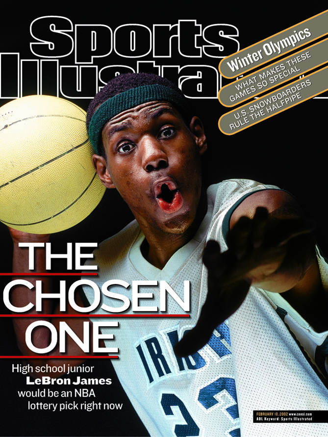 2002-02-18 SI Covers and LeBron James