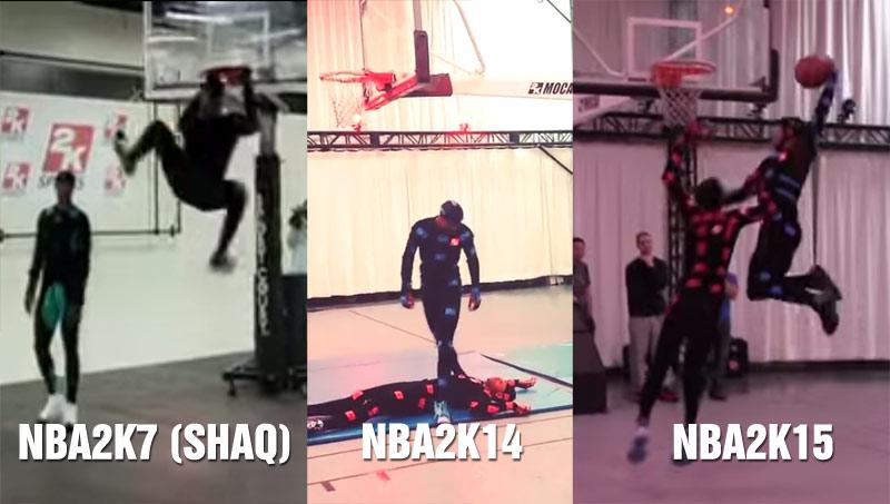 NBA2k16 Motion Capture: The Best Dunks Behind the Dunks