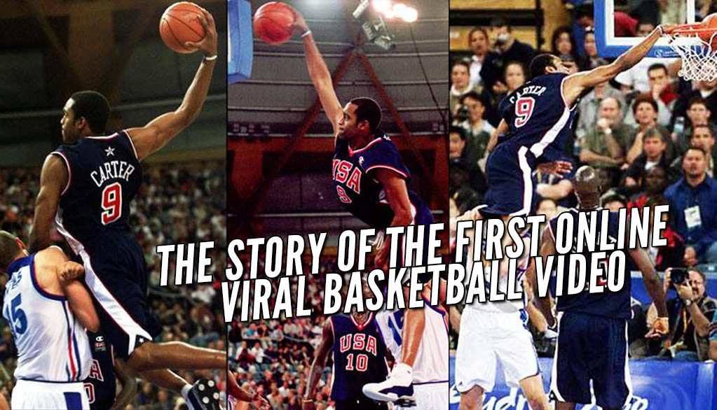 Remembering when the greatest dunk ever happened but nobody saw it until the next day | Vince Carter over Fred Weis