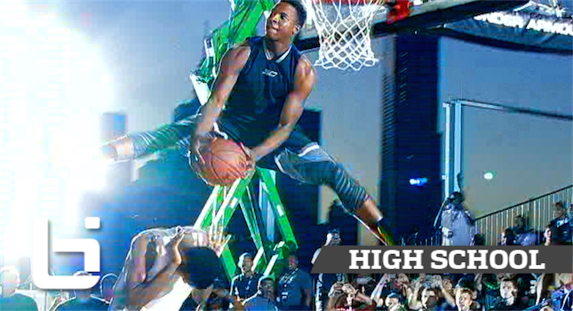 The MOST ATHLETIC Player In The Nation? Mark Vital Official Ballislife Mixtape!