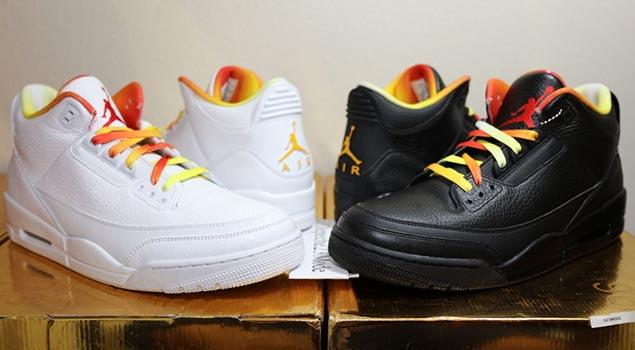 Drake V Lil Wayne Air Jordan 3's up for Auction!