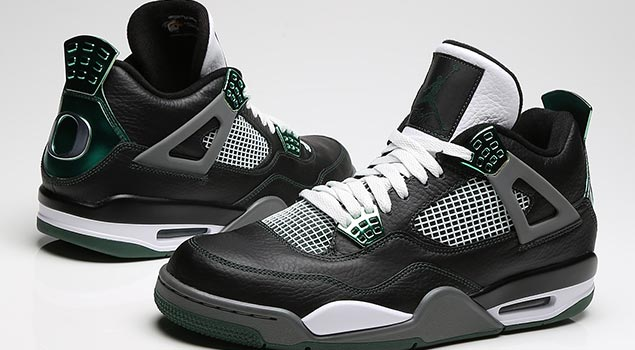 """University of Oregon"" Air Jordan Retro 4"