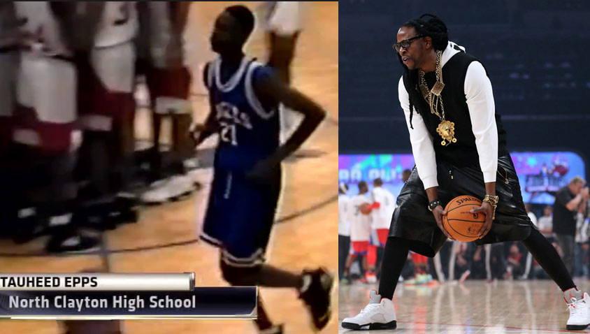 2 Chainz Playing High School Basketball in 1995