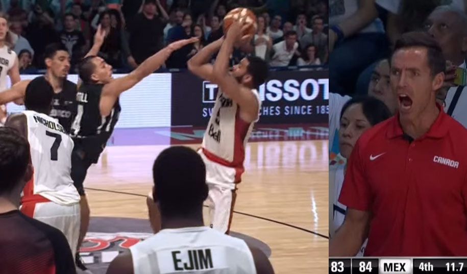 Cory Joseph Back-to-Back Clutch Shots Including Game-Winner For Canada