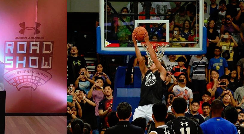 Steph Curry Shows Off His Dance Moves, Fancy Passing & Dunks in Manila Exhibition Game