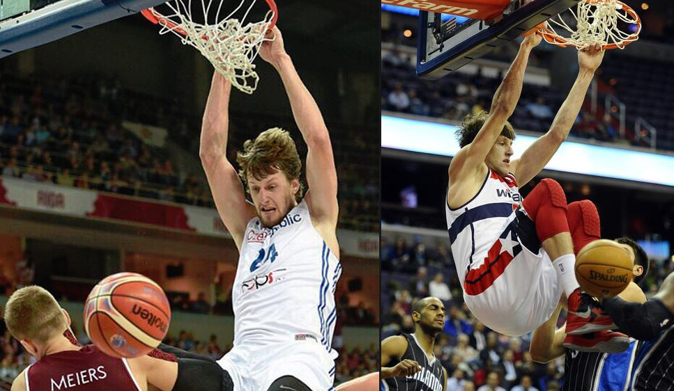 Former Lottery Pick Jan Vesely Was A Beast Vs Latvia Monster Dunk