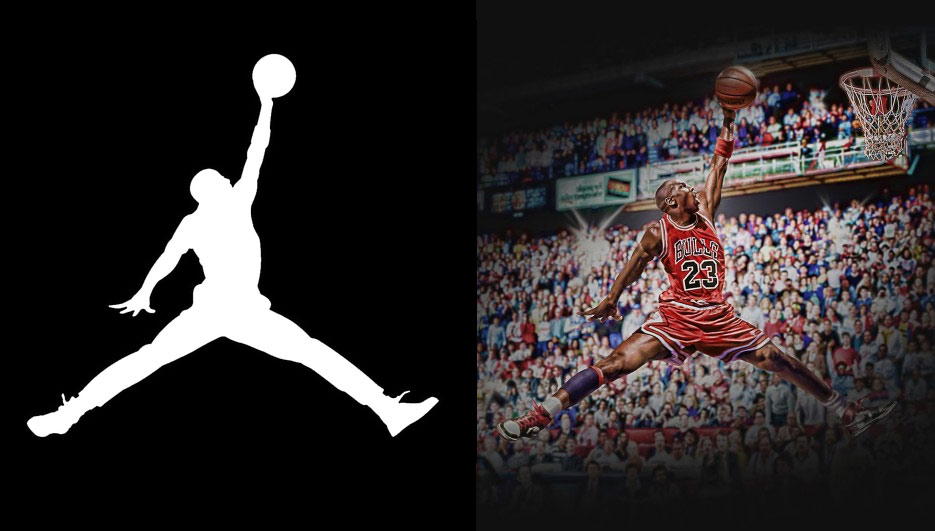 What Would The Jordan Logo Look Like If Michael Jordan Did It In A Game