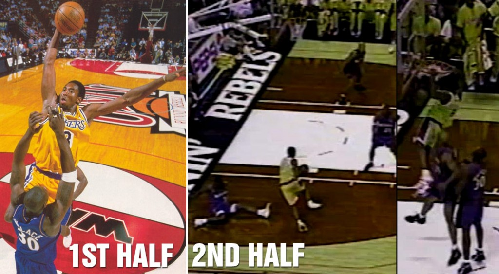 Kobe's Famous Dunk on Ben Wallace + The Same Game Dunk Nobody Remembers