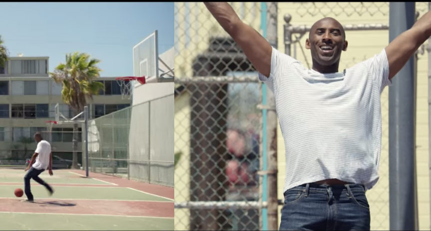 Kobe Bryant Makes A Cameo in FIFA 16 commercial. What!!