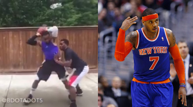Master NBA Impersonator Does A Mean Carmelo Anthony