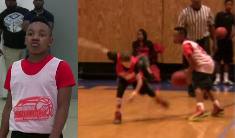 Watch Muggsy Bogues' 5th Grade Grandson Drop A Bunch of Defenders